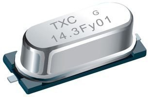 500 pieces 20PF 24.576MHZ TXC 9C-24.576MBBK-T CRYSTAL HC-49S SMD