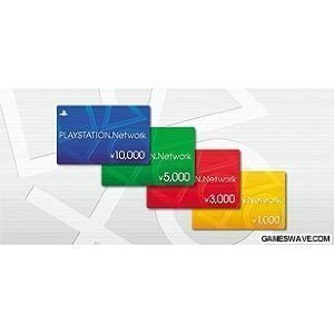 PlayStation Network Card / Ticket (10000 YEN / for Japanese network only) [retail packing] [Japan Import] by Sony