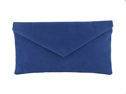 Loni Mujer Cartera Light Blue Azul De Sintético Royal Para Mano r6rXqOZ