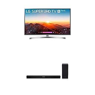 LG Electronics 49SK8000PUA 49-Inch 4K Ultra HD Smart LED TV (2018 Model) Bundle with LG SK5Y 2.1 Channel 360W High Resolution Audio Sound Bar (2018 Model) (B07KRF38MQ) | Amazon price tracker / tracking, Amazon price history charts, Amazon price watches, Amazon price drop alerts