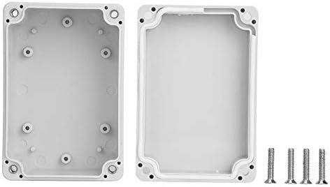 Caja de conexiones de alimentación Caja de fuente de alimentación de seguridad Caja de conexión de caja Suministros para exteriores 100x68x50mm: Amazon.es: Bricolaje y herramientas