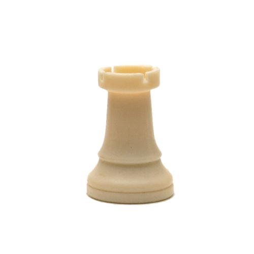 (WE Games Replacement Staunton Tournament Chess Piece - Heavy Weighted, Light Rook)