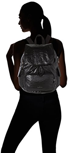 Night Kipling City Black Lacquer H31 S Backpack Women's Pack FwF0qTB