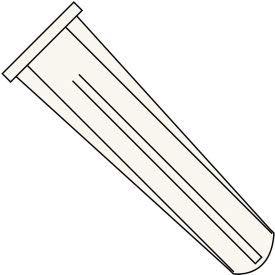 Conical Plastic Anchor-8-10x7/8-Blue-Pkg of 7000