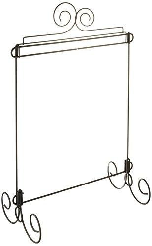 [해외]Ackfeld 탁상용 패브릭 홀더, 더블 스크롤/Ackfeld Table top Fabric Holder, Double Scroll