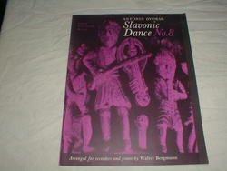 Antonin Dvorak. Slavonis Dance No.8 for Recorders & Piano by Walter Bergmann