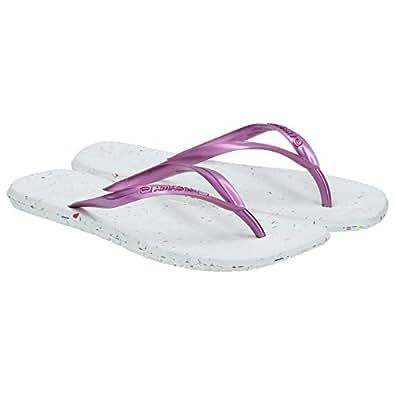 Amazonas Off White Flip Flops Slipper For Women