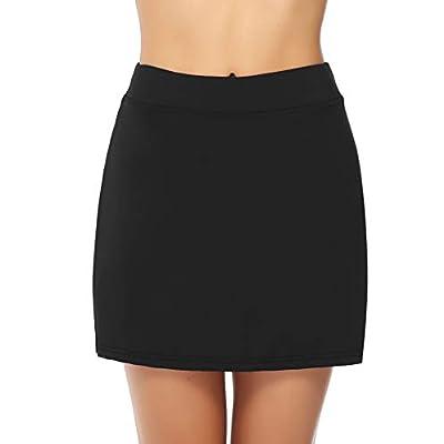 Misterjolly Women's Skort 1/2Pcs Girls Active Athletic Skirt for Running Tennis Golf Workout Sports S-XXL: Clothing