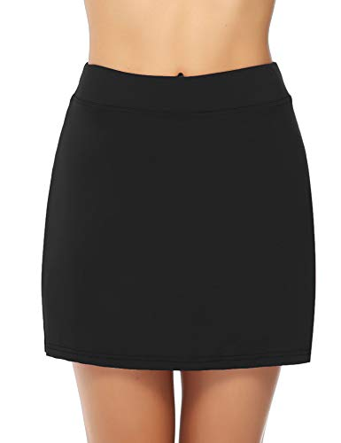 iClosam Women Skort Active Performance Lightweight Skirt for Running Tennis Golf Workout Sports