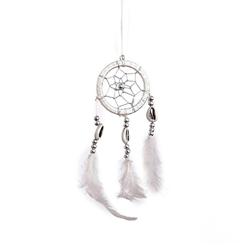 Fenta Handmade Mini Dream Catcher Feathers Long Wall Car Hanging Ornaments