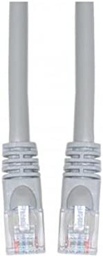 Snagless//Molded Boot 25-Foot Offex Cat5e Ethernet Patch Cable OF-10X6-02125 Gray