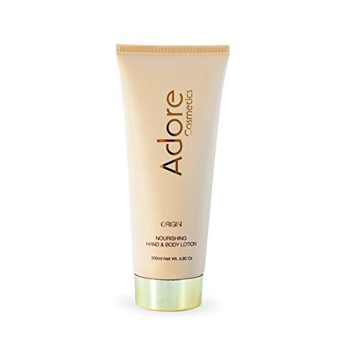 Adore Cosmetics Nourishing Hand Body Lotion – Origin – 6.8 Fl Oz Anti Aging Luxury Lotion For Men and Women With Shea Butter and Organic Plant Stem Cells For Skin Rejuvenation 1