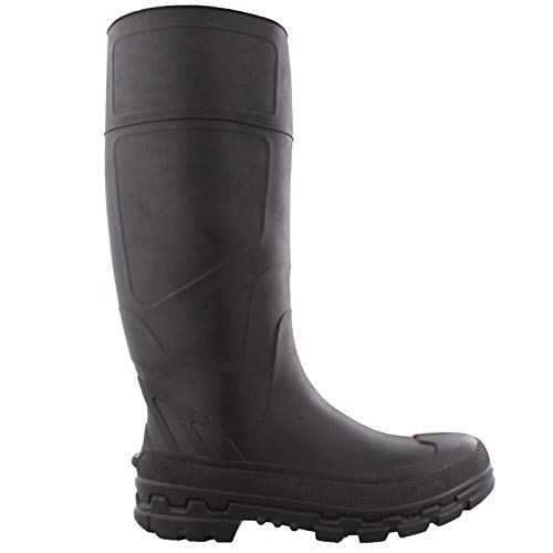 Chinook Badaxe Men's Black Rubber Boots - Size 12 ()