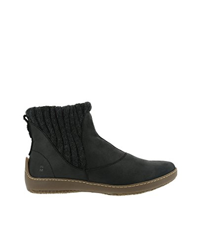 Elasticizzato Black Nero Nd28 El Pleasant Stivaletto Donna bee Naturalista xvRqwtq8z