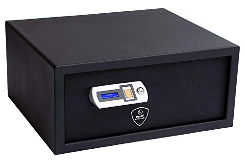 (Verifi Smart.Safe. S6000 Biometric Quick-Access Handgun Safe with FBI Certified Fingerprint Sensor, Self-Diagnostics, Tamper and Open Door Alerts, and Low Battery Power)