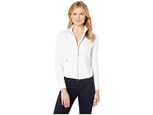 (Jones New York Womens Moto Jacket White 10)
