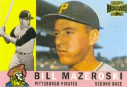 2002 Topps Archive Card (2002 Topps Archives Baseball Card #59 Bill Mazeroski Near Mint/Mint)
