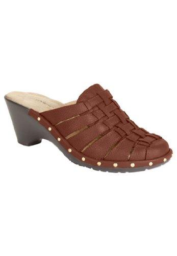 Jessica London Glenda Vevet Skoen Medium Brun, 11 Ww