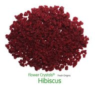 Fresh Origins 185HIBISCUS4OZ12 Flower Crystals Hibiscus- 4 oz. - 6 pack by Fresh Origins