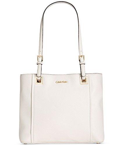 White Leather Handbags - 5