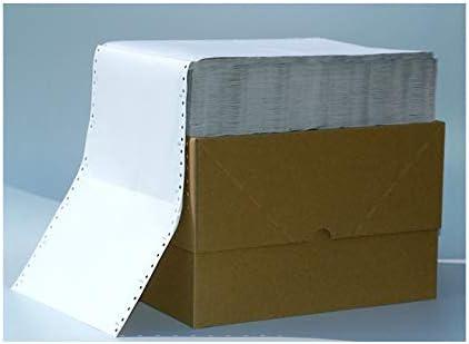 Endlospapier 6 Zoll x 240 mm (A5 quer 152,4 mm x 240 mm) 3-fach blanko 60/53/57 g/qm 1600 Blatt