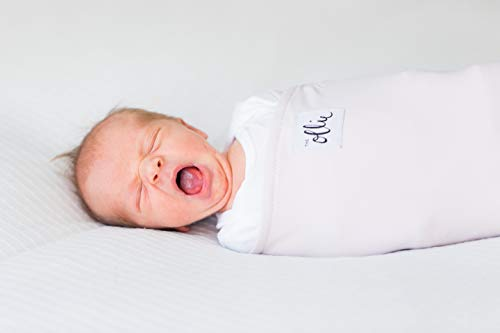 (The Ollie Swaddle (Lavender) - Helps to reduce the Moro (startle) reflex - Made from a custom designed moisture-wicking)