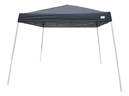 American Phoenix 5x5 Multi Color [Slant Leg][White Frame ] Light Weight Portable Event Canopy Tent. Shade Commercial Party Canopy tent Easy Pop Up (Black) by American Phoenix