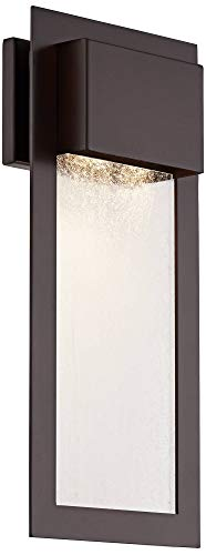 Minka Lavery Minka 72383-246 Contemporary Modern Two Light Wall Mount from Westgate Collection in Bronze/Darkfinish 2, Upc-747396090955