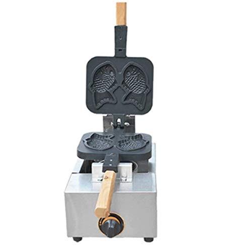 Hanchen FY-1105.R たい焼きメーカー ガス式鯛焼器 2匹プレート 木柄付 手作りタイヤキ 家庭用 業務用 (液化石油ガス(LPG)) 液化石油ガス(LPG)  B07BF61D25