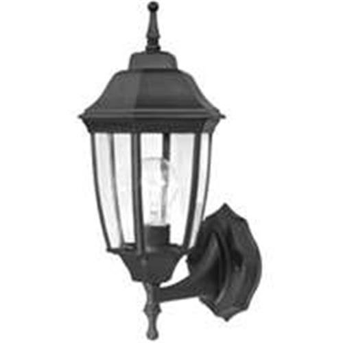 Pro Sourcetwin 5552294 Black outdoor wall lantern, 2 Pack (Lantern Outdoor Harbor)