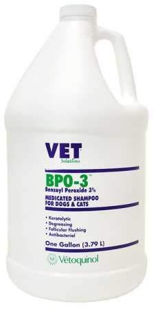 Vet Solutions BPO 3 Shampoo 3% Benzoyl Peroxide (Gallon)