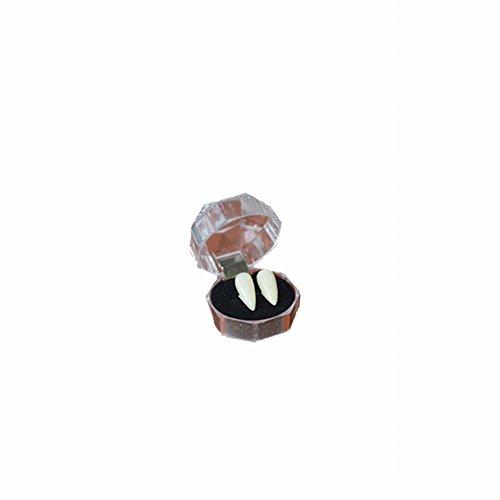 Halloween Color Eye Contacts (Gracefulvara 1 Pair Halloween Party Cosplay Vampire Teeth or 1 set Adhesive (17mm))