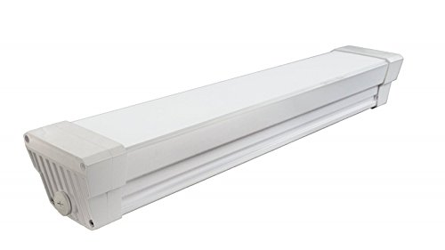Extruded Aluminum Area Lighting (NICOR Lighting 2-Foot Extreme Environment 2221-Lumen 5000K LED Linear Vaportite Light Fixture (VT2-10-2-UNV-50K-WH))