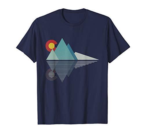 Colorado Flag Mountain T Shirt ()