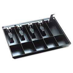 -- Cash Drawer Replacement Tray, Black