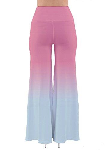 CowCow - Pantalón - para mujer Baby Pink & Blue