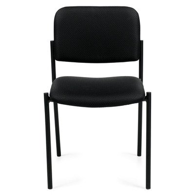 Offices To Go Stackable Chair, 32″H x 22 1/2″W x 19 1/2″D, Black
