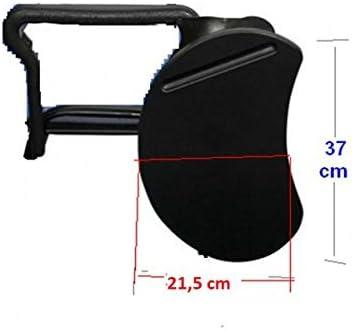 4x Silla confidente para oficina. Silla PVC, ideal para oficinas, academias, autoescuelas. Apilables. Disponibles en varios colores (granate)  1OXXIJ