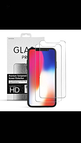 Invisible Defender Apple iPhone X iPhone 10 | Tempered Glass Screen Protector | High Definition | Clear Film | Anti Scratch | Anti Crack | Shatter Proof | Bubble Free - Home Online On Glasses Try At