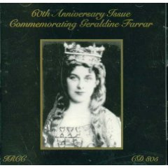 60th Anniversary Issue Commemorating Geraldine Farrar by Ircc