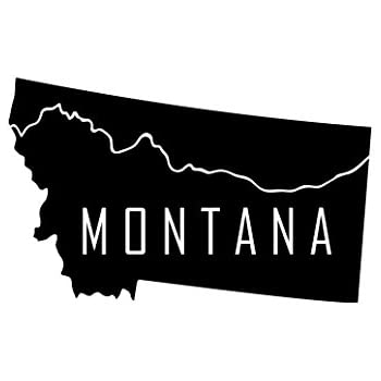 Montana Bear Decal Sticker7-Inches By 4.3-Inches