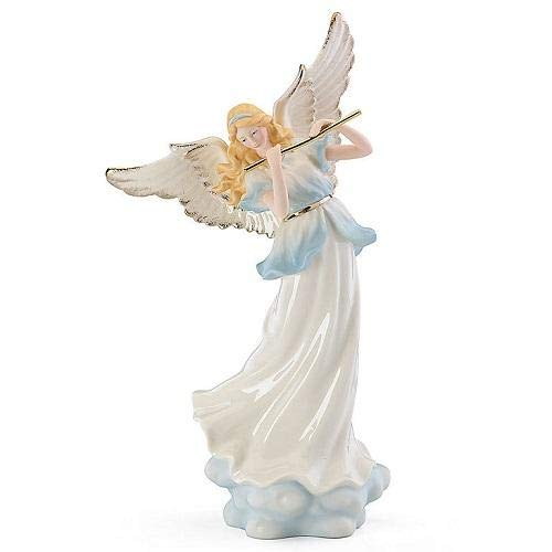 Heavenly Harmony Angel with Flute Lighted Figurine by Lenox