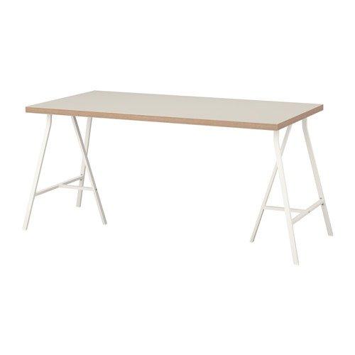 LINNMON テーブル, ベージュ, ホワイト 292.166.55 B075V14QRZ