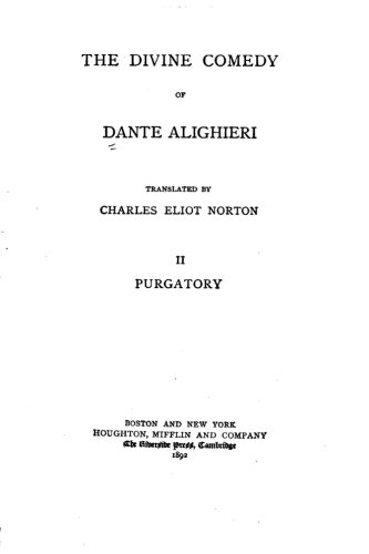 The Divine Comedy - II - Purgatory PDF