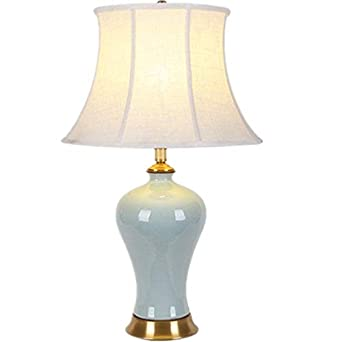 Lámpara Escritorio Lámpara de mesa de cerámica Lámpara de ...