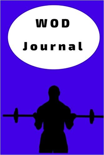wod journal crossfit workout journal wod logbook exercise