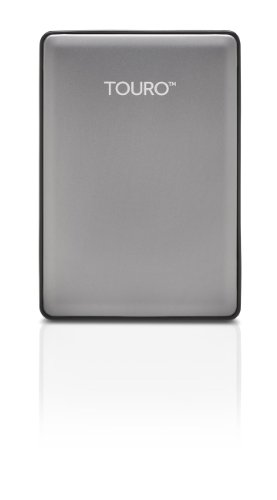 HGST Touro S 1TB 7200RPM High-Performance Portable Drive, Platinum (0S03694) ()