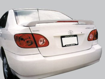Frost Accent Blue (Accent Spoilers-Toyota Corolla Factory Style Spoiler-Frost Blue Metallic Paint code: 8S1)