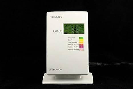 Monitor de Calidad del Aire Alarma feinstaubmes sgerät partículas Laser feins taubbel astung (PM2.