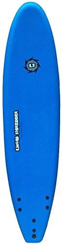 Liquid Shredder FSE Soft Surfboard, Blue, 9-Feet